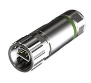 Hybrid Bajonett-Steckverbinder vereint Signal und Leistung