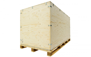 XL-Sperrholzbox schluckt bis 20m3 Transportgut schnell und sicher