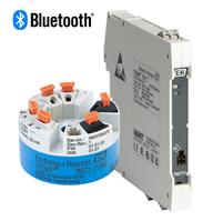 iTEMP TMT71/72 weltweit erste Temperaturtransmitter mit Bluetooth®