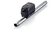 Thermischer Druckluftzähler mit integriertem Druck- und Temperatursensor