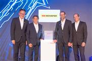 """SSI Schäfer erhält den """"Bosch Global Supplier Award 2019"""""""