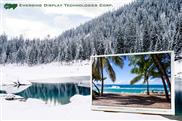 TFT Display bietet 80° Blickwinkel aus allen Richtungen
