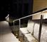 INOX-Geländer  und LED-Technologie