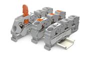 WAGO Reihenklemmen mit Hebel, Drücker oder Betätigungsöffnung