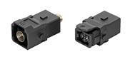 Miniaturisierter Rechtecksteckverbinder Han® 1A ideal für Vernetzung