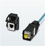 RJ45-Kontakteinsätze für schwere Steckverbinder