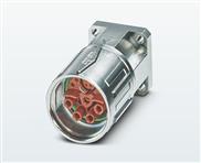 Hybrid-Gerätesteckverbinder mit Rändelmutter