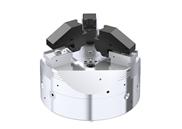 Voll automatisierbarer, werkzeugloser Spannbacken-Schnellwechsel