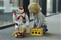 Wie ein Roboter Kita-Kindern Sprachen beibringt