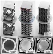 KIT-Forscher drucken Metamaterial mit Dreheffekt