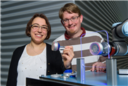 Roboter-Sauggreifer lassen künstliche Muskeln spielen