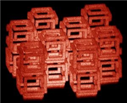 3D-Objekte in Nanobereich geschrumpft