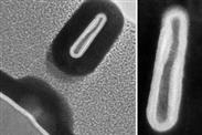 Forscher bauen kleinsten Transistor der Welt