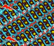 Smarte Moleküle speichern binäre Daten