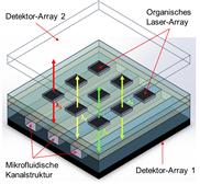 On-Chip Laser-Absorptionsspektrometer