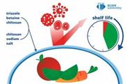 Biofolie hält Lebensmittel achtmal länger frisch