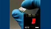 Flexible Leuchtelemente in 2D