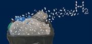 Forscher machen Wasserstoff aus Plastikmüll