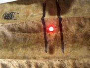 Elektronische Tinte hält sogar auf der Haut