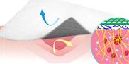 Neuartiges Verbandmaterial wirkt blutstillend und verklebt nicht