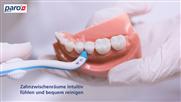 Mühelose Reinigung der Zahnzwischenräume