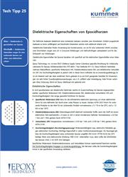 Dielektrische Eigenschaften von Epoxidharzen