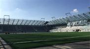Generatoranschlusskästen für ein nachhaltiges Fussballstadion mit Solaranlage