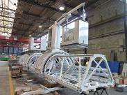 Gigantischen Bauwerke mit MIBAG-Standard-Energiezuführungen