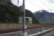 Erste Etappe der Weichenheizung für Projekt AlpTransit Gotthard