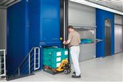 Automatische EcoDrive® Lean-Lifte® optimieren Lagerlogistik bei Brugg