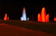Wasseraufbereitung und Springbrunnen automatisiert