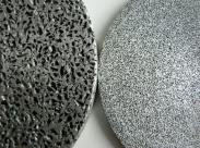Poröses Aluminium - eine option zu Sintermetall und Metallschaum