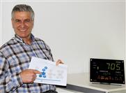 Im Einsatz die CO2-Displays von Rotronic