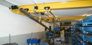 Steckbrief GIS-Krananlage der Haslimann Aufzüge AG, Gunzwil