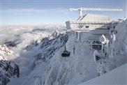 Grossgetriebe von SEW-EURODRIVE bewegt neue Seilbahn Zugspitze