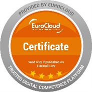 Safety First - EuroCloud-Zertifikat auf Vier-Sterne-Niveau