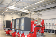 Höhenoptimiertes GISKB Kransystem für Transformatoren-Raum
