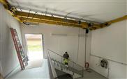 Service- und Wartungskran für das neue Grundwasserpumpwerk Rägelerhof