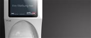 econal – Urinal mit integriertem Werbedisplay