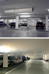 Jet-Ventilationssysteme für Tiefgaragen