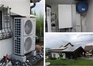 Oekologisch optimale Weishaupt-Wärmepumpe